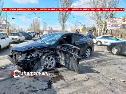 Photo of Խոշոր ու ողբերգական ավտովթար Աբովյան քաղաքում. հակատուբերկուլոզային դիսպանսերի մոտ ճակատ-ճակատի բախվել են Toyota-ն ու Lada-ն. կա 1 զոհ, 3 վիրավոր