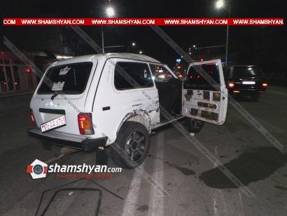 Photo of Ավտովթար Երևանում. Հասրաթյան փողոցում բախվել են ВАЗ 2107-ն ու ВАЗ 2121-ը. վերջինս գլխիվայր շրջվել է. կա վիրավոր