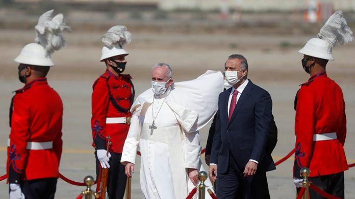 Photo of Հռոմի պապ Ֆրանցիսկոսը առաքելական այցով Իրաքում է