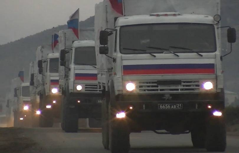 Photo of Ռուս խաղաղապահները 130 տոննա հումանիտար բեռ են տեղափոխել Քարվաճառի շրջան