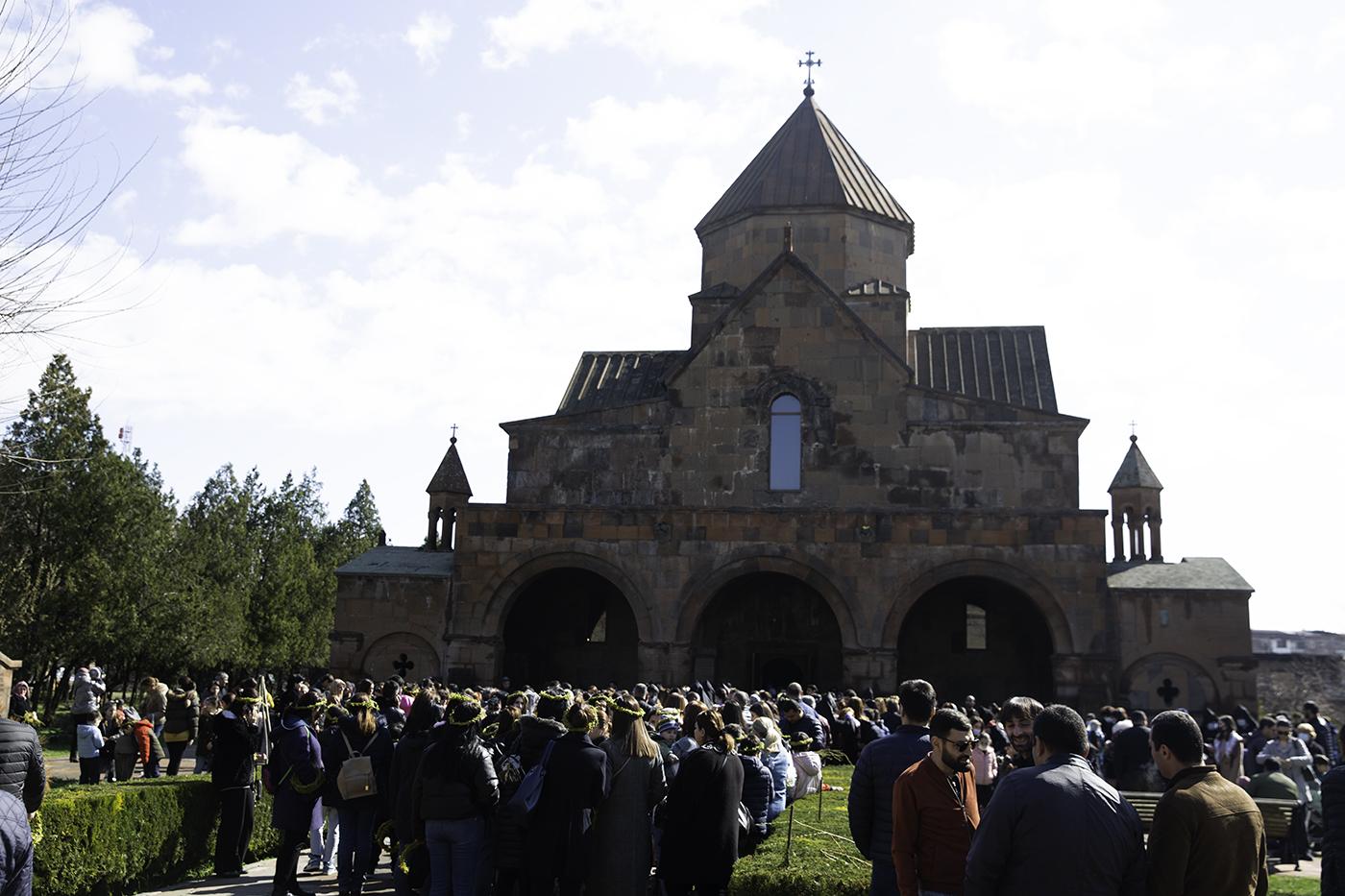 Photo of Ծաղկազարդի տոնը Մայր Աթոռ Սուրբ Էջմիածնում