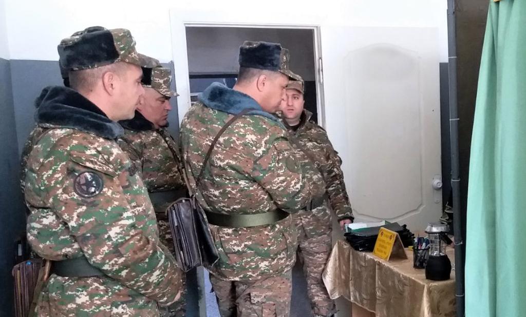 Photo of 1-ին զորամիավորման զորամասերից մեկում անցկացվել է մարտավարաշարային պարապմունք