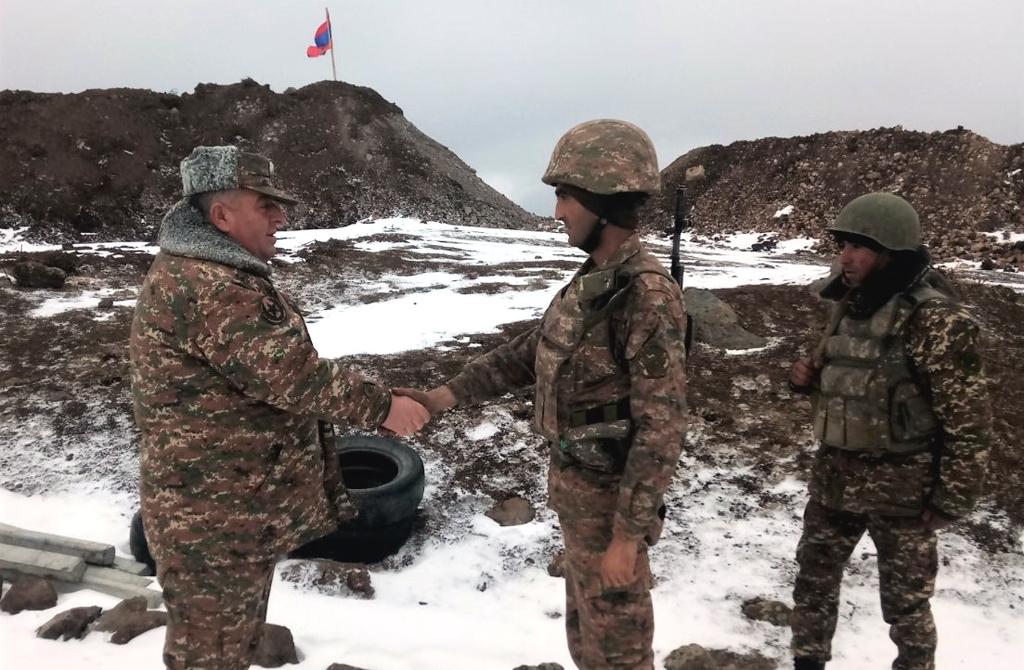 Photo of Ստուգայց մարտական հենակետերում