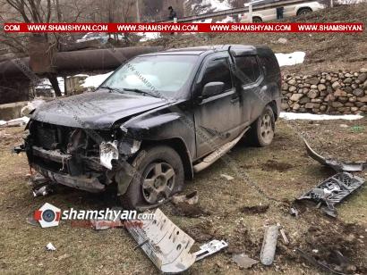 Photo of Ավտովթար Տավուշի մարզում. 54–ամյա վարորդը Nissan X-Trail-ով բախվել է փայտե էլեկտրասյանը, կոտրել այն և հայտնվել հարակից հողատարածքում. կա վիրավոր