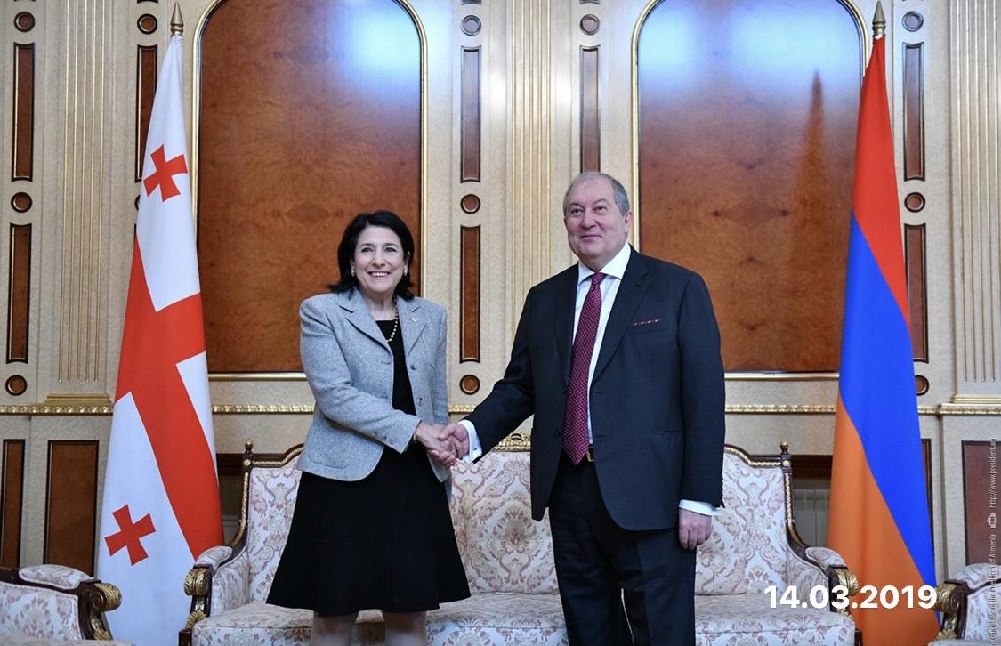 Photo of Армен Саркисян поздравил президента Грузии с Днем рождения