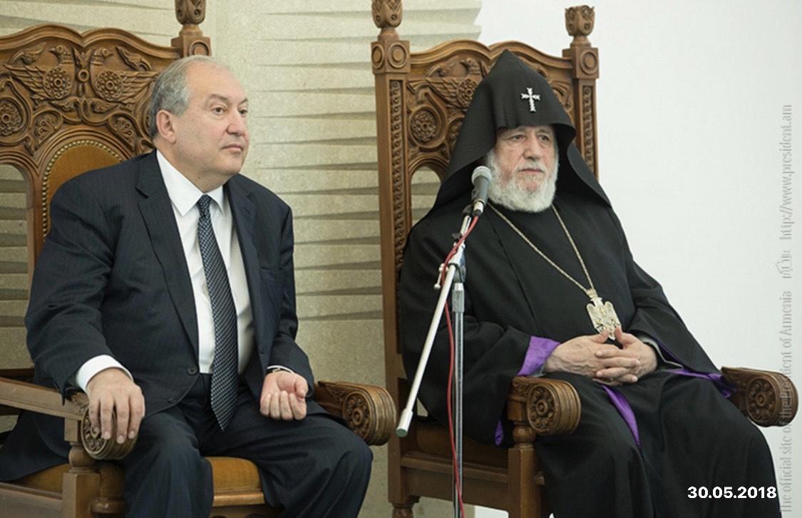 Photo of Արմեն Սարգսյանը հանդիպել է Գարեգին Բ կաթողիկոսին
