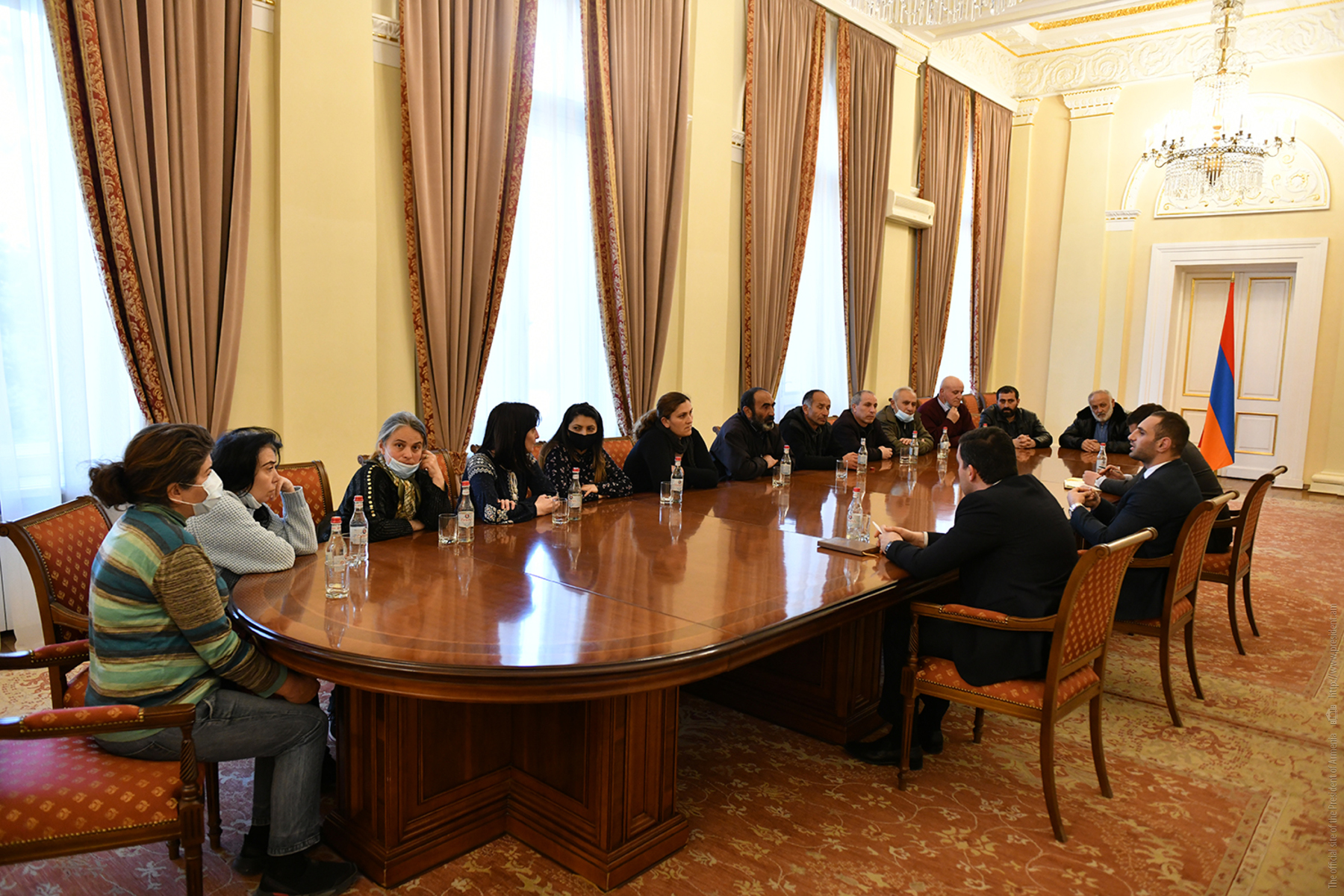 Photo of Հանրապետության նախագահի աշխատակազմում տեղի է ունեցել հանդիպում անհետ կորածների ընտանիքների ներկայացուցիչների հետ
