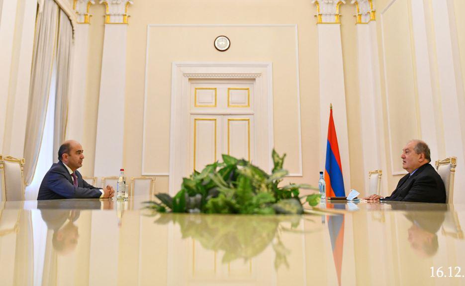 Photo of Ինչ է քննարկվել Արմեն Սարգսյան- Էդմոն Մարուքյան հանդիպմանը