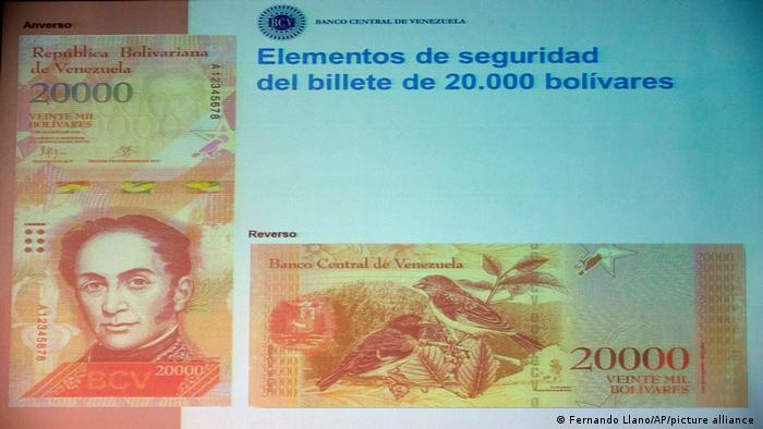Photo of В Венесуэле на фоне гиперинфляции введут банкноты в 1 млн боливаров