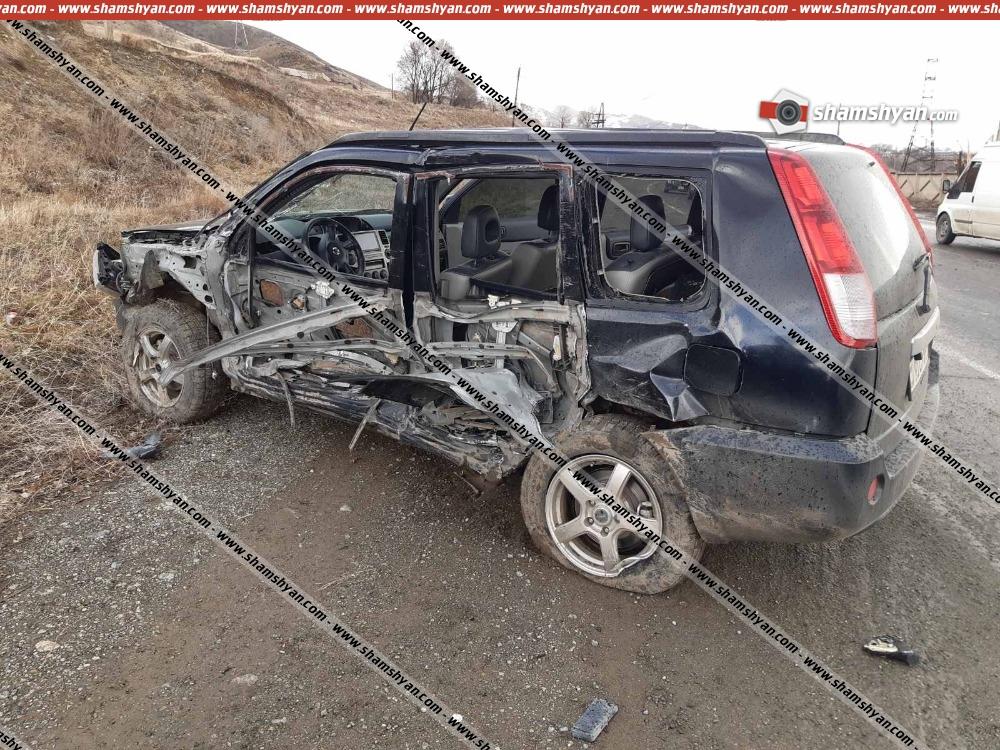 Photo of Ավտովթար Լոռու մարզում. բախվել են Nissan-ն ու Toyota Land Cruiser-ը. կա վիրավոր