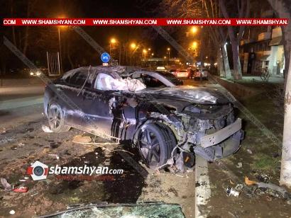 Photo of Խոշոր ավտովթար Երևանում. բախվել են BMW-ն ու Lexus -ը. վերջինս կողաշրջվել է. կան վիրավորներ