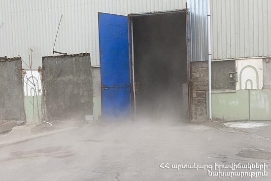 Photo of В Ереване полыхал склад кондитерских изделий