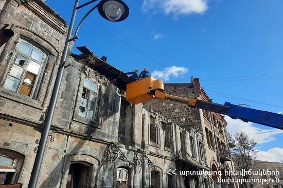 Photo of Փրկարարներն իրականացրել են ապամոնտաժման աշխատանքներ