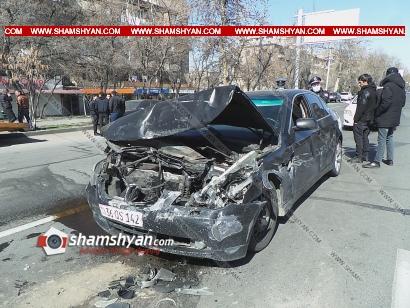 Photo of Ավտովթար Երևանում. Քրեակատարողական ծառայության դիմաց բախվել են Porsche Cayenne-ը, BMW-ն ու Nissan-ը