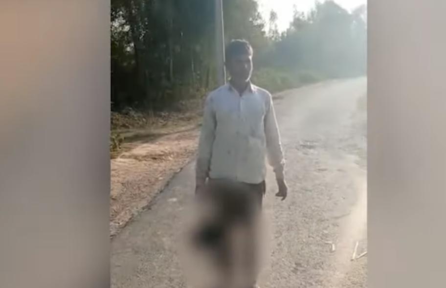Photo of Հնդկաստանում տղամարդն իր 17-ամյա դստերը գլխատել է եւ գլուխը ձեռքին քայլել փողոցում
