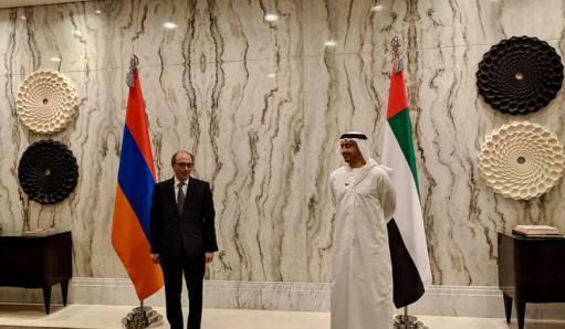 Photo of Մեկնարկել է Արա Այվազյանի հանդիպումը ԱՄԷ արտաքին գործերի նախարարի հետ