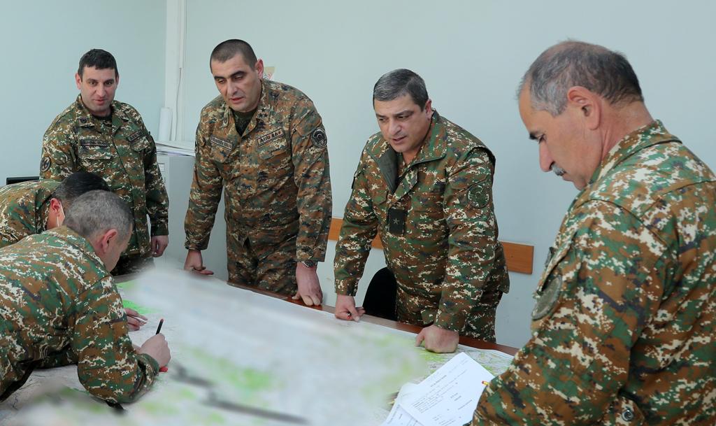 Photo of Զինված ուժերի գլխավոր շտաբում իրականացվում են պլանների ճշգրտման աշխատանքներ