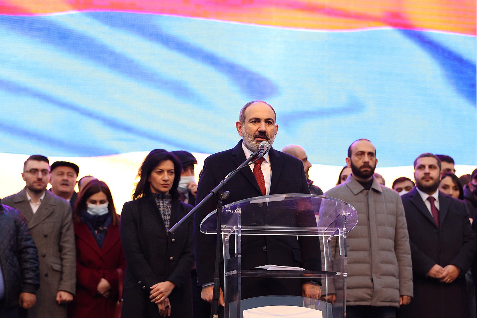 Photo of «Ժողովուրդն անհաղթահարելի ուժ է». վարչապետի ելույթը Հանրապետության հրապարակում հանրահավաքի ժամանակ