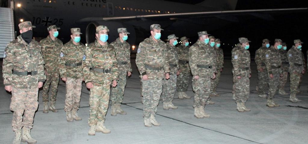 Photo of Հայ խաղաղապահների հերթական զորախումբը վերադարձել է հայրենիք