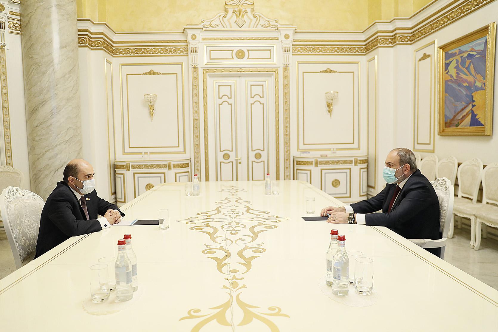 Photo of Վարչապետը հանդիպել է Էդմոն Մարուքյանին. խորհրդակցությունները կշարունակվեն