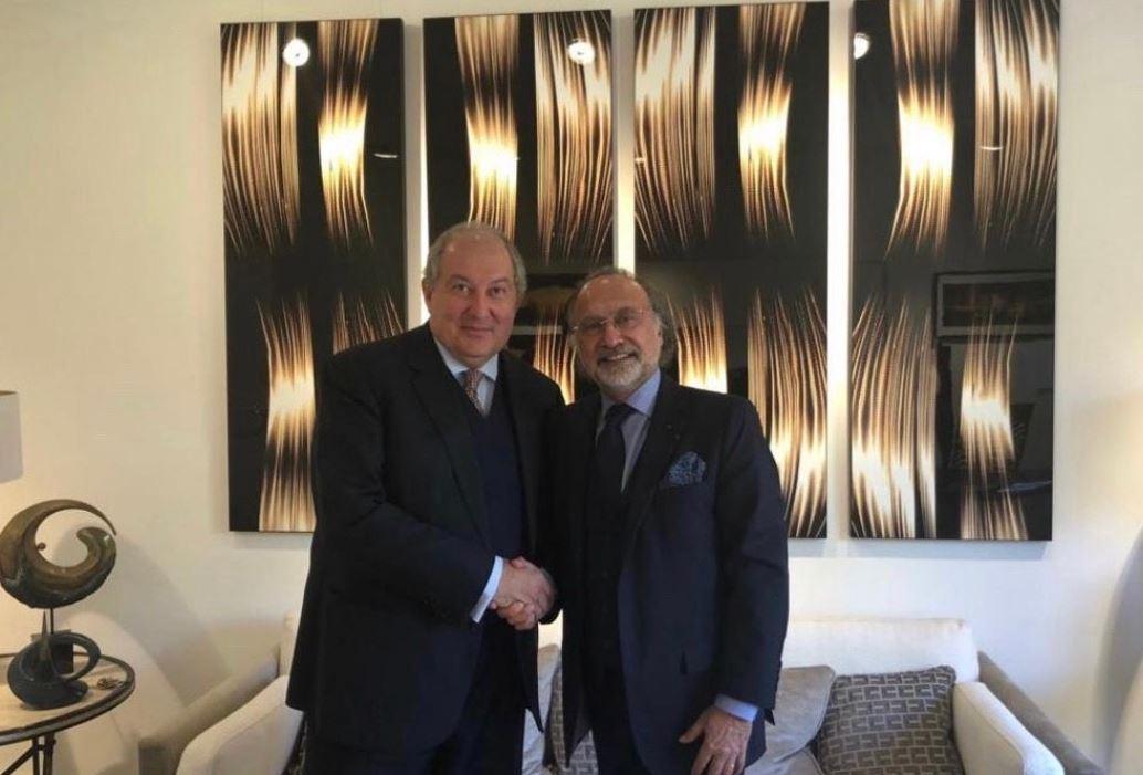 Photo of Президент Армении выразил соболезнования в связи с кончиной Оливье Дассо