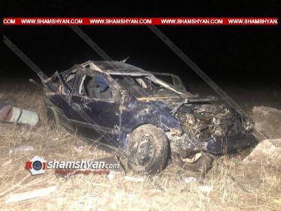 Photo of Ողբերգական ավտովթար Արագածոտնի մարզում. Opel-ը մի քանի պտույտ շրջվելով, հայտնվել է դաշտում. 4 անչափահաս տղաներ հիվանդանոցում մահացել են, 1-ը ծայրահեղ ծանր է