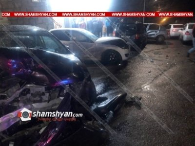 Photo of Շղթայական ավտովթար Արարատի մարզում. բախվել են Mercedes-ը, Nissan-ը, Opel Zafira-ն եւ Opel Astra-ն. կա 4 վիրավոր
