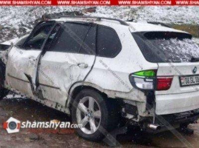 Photo of Արմավիրի մարզում 38-ամյա վարորդը BMW X6-ով բախվել է արգելապատնեշներին և հայտնվել ձորակում. կան վիրավորներ