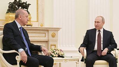 Photo of Путин и Эрдоган дали старт строительству III блока АЭС «Аккую» и договорились встретиться в ближайшее время
