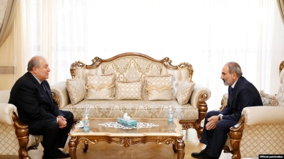 Photo of Արմեն Սարգսյանը և Նիկոլ Փաշինյանն այսօր հանդիպել են