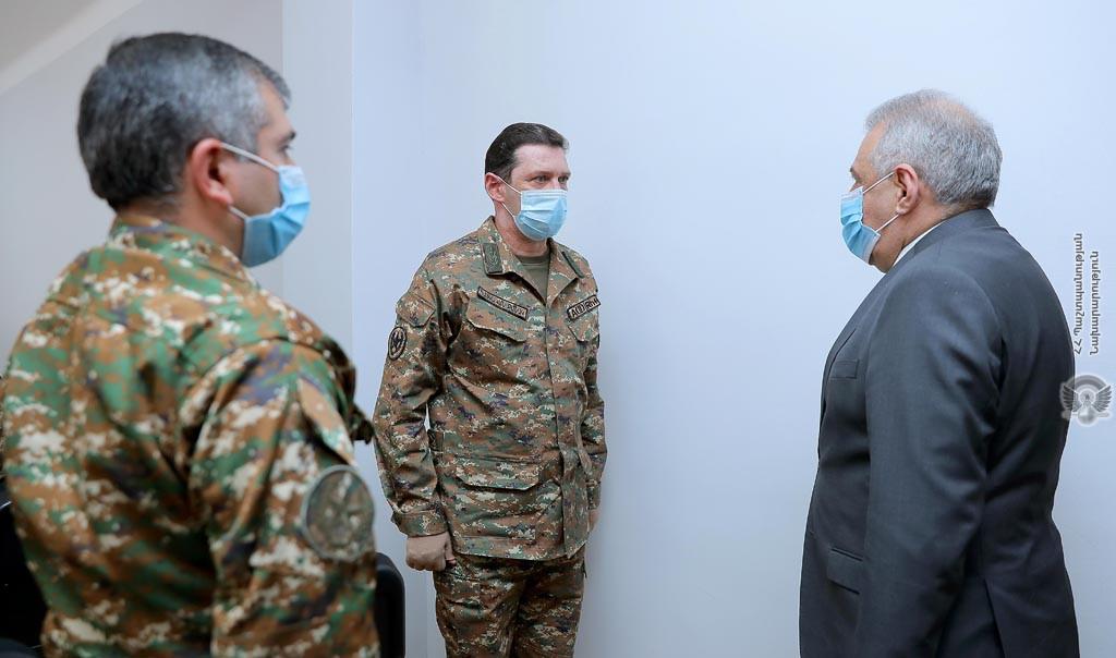 Photo of Джалал Арутюнян представил деятельность Службы военного контроля МО за прошлый год