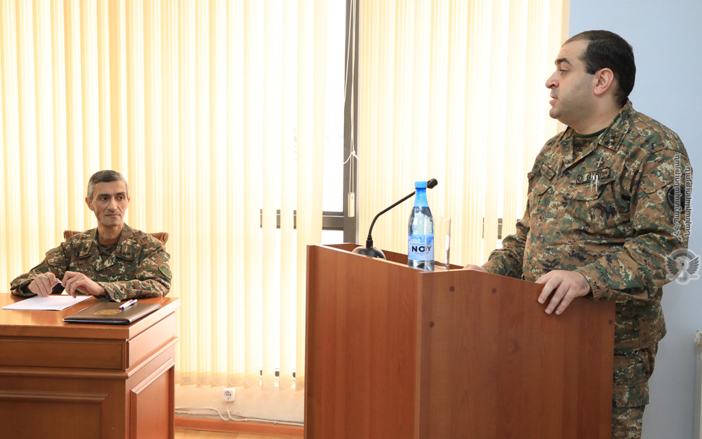 Photo of ՀՀ ԶՈւ գլխավոր շտաբում անցկացվել է իրավաբանների հավաք-խորհրդակցություն