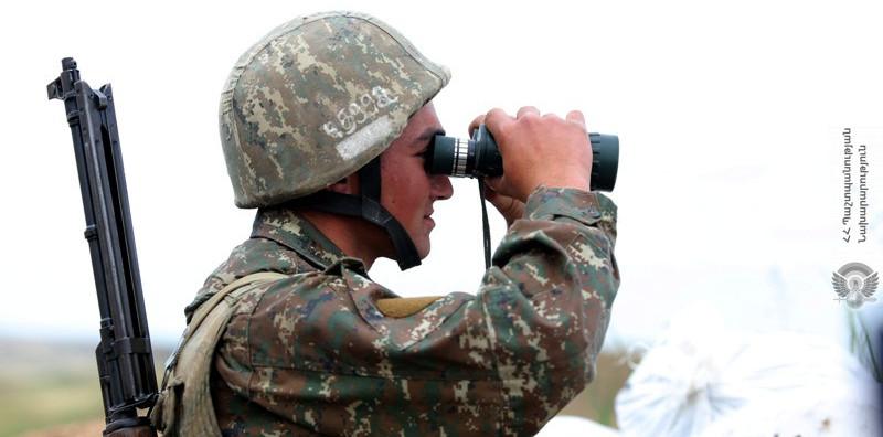 Photo of Подразделения пограничных войск ВС РА и СНБ контролируют обстановку на границе