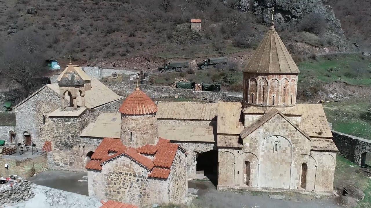 Photo of Ռուս խաղաղապահները հայ ուխտավորներին ուղեկցել են Դադիվանք