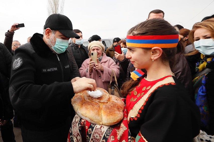 Photo of Никол Пашинян прибыл в Арагацотнскую область для визитов в общины