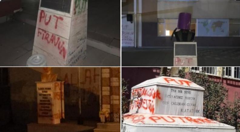 Photo of Թուրքիայում 1 օրում Աթաթուրքի արձանների պղծման 3 դեպք է գրանցվել