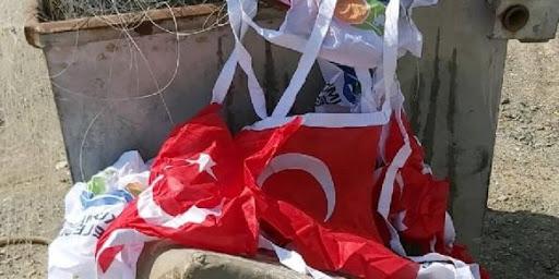 Photo of Անթալիայում Թուրքիայի պետական դրոշը նետել են աղբամանը