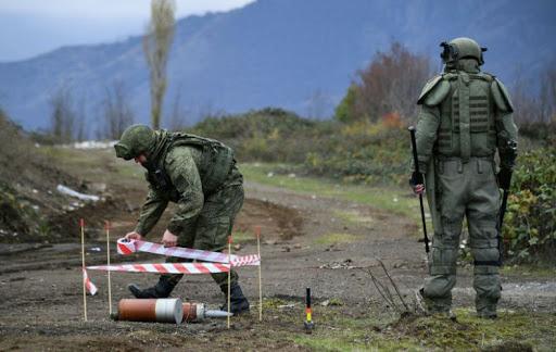 Photo of В Арцахе российскими миротворцами от неразорвавшихся боеприпасов очищено 1 623 га территории