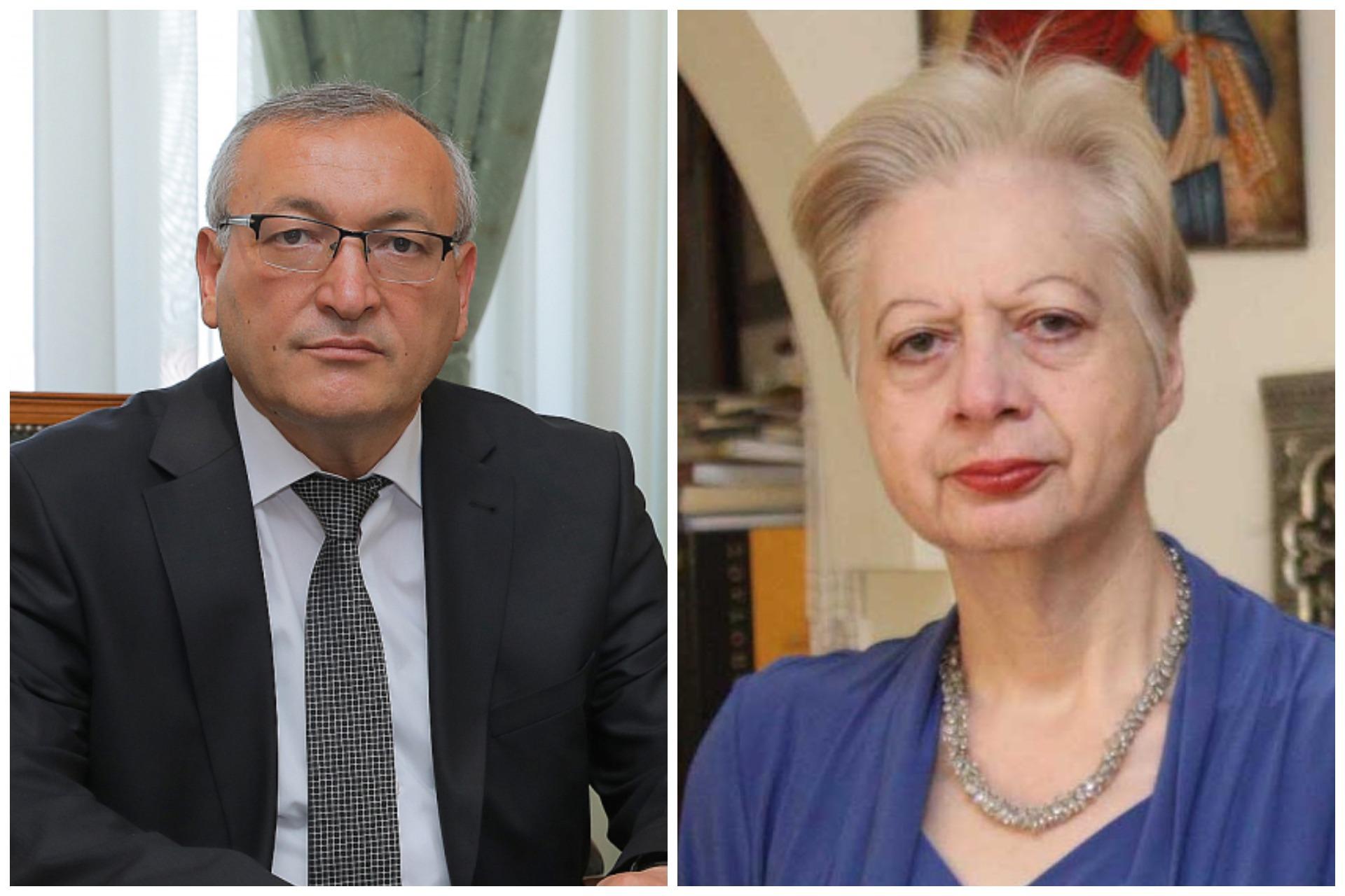 Photo of Спикер Национального Собрания Арцаха выразил признательность бывшему депутату Европарламента Элени Теохариус.