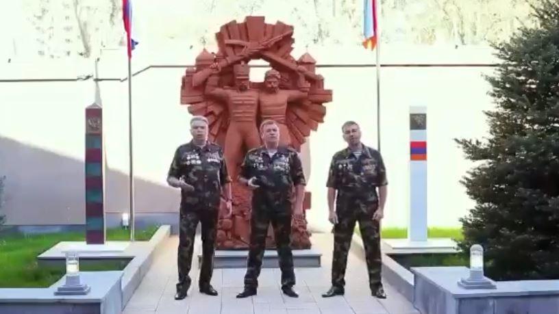 Photo of Գյումրիում տեղակայված 102-րդ ռուսական ռազմաբազայի սպաները երգ են նվիրել ռուս-հայկական բարեկամությանը