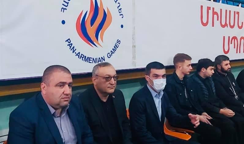 Photo of ԱԺ նախագահը Երևանում մասնակցել է  Քիք- Բոքսինգի ուժեղագույն ակումբների առաջնության բացման արարողությանը