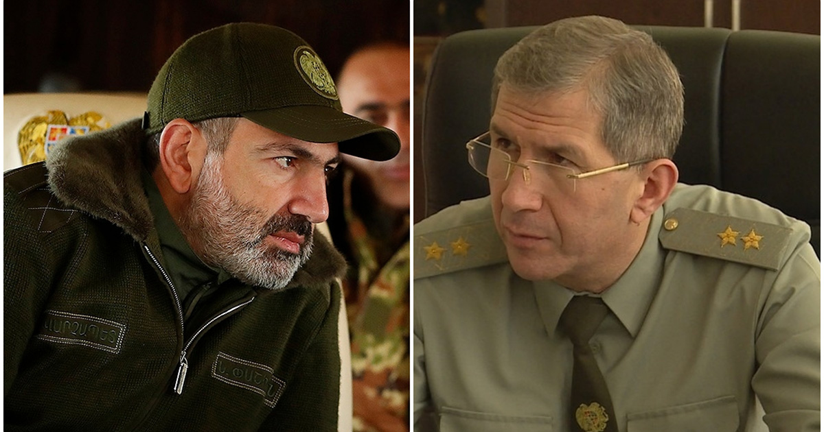 Photo of Совбез Армении опубликовал секретные материалы в ответ на заявления экс-главы Генштаба Армении Оника Гаспаряна