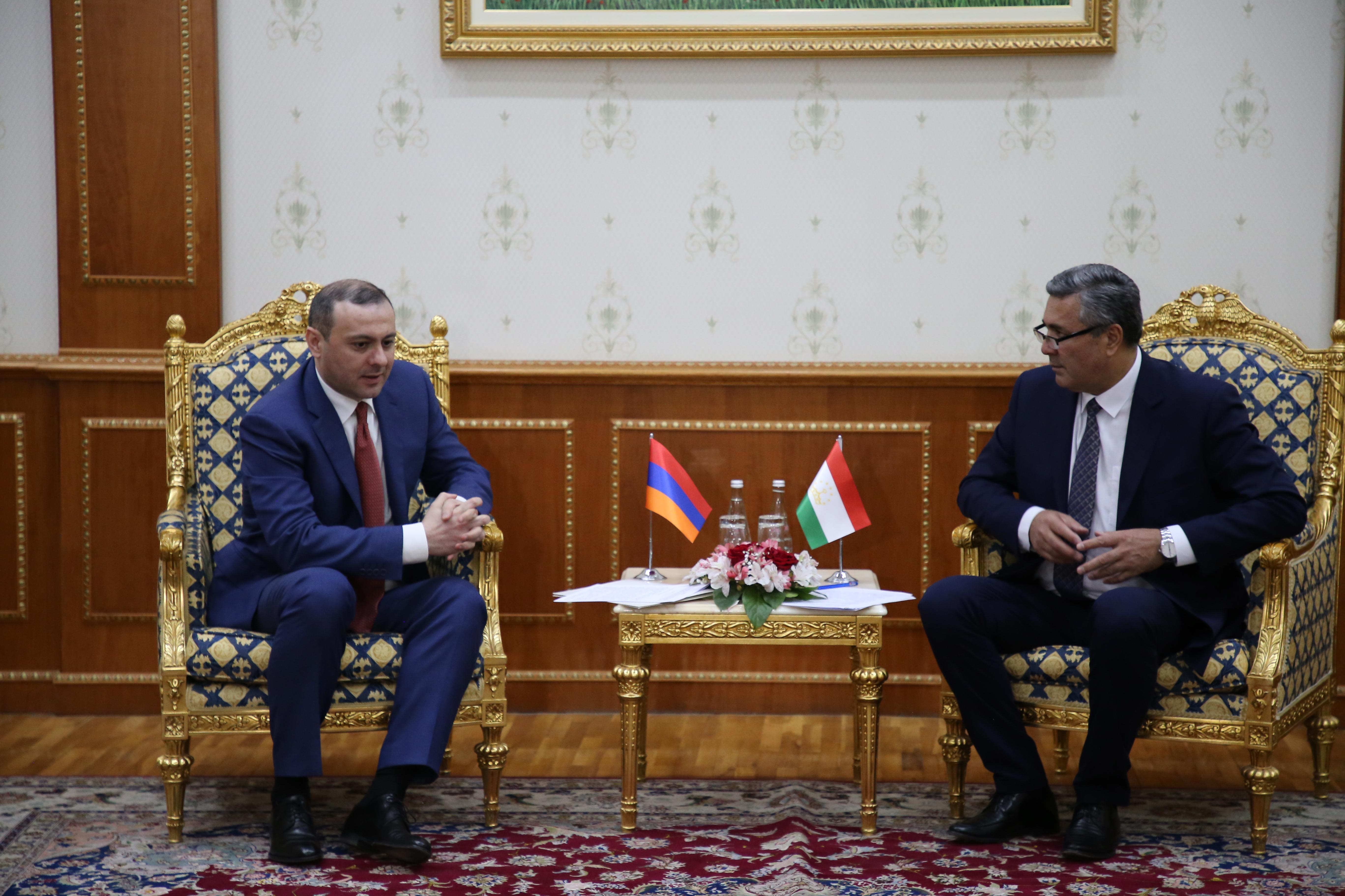 Photo of Արմեն Գրիգորյանը հանդիպել է Տաջիկստանի ԱԽ քարտուղար Նասրուլլո Մախմուդզոդայի հետ