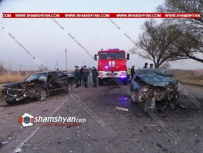 Photo of Պարզվել է Արարատի մարզում ողբերգական ավտովթարի հետևանքով Mazda-ի մահացած վարորդի, նրա վիրավոր կնոջ, 2 անչափահաս երեխաների և Mercedes-ի վարորդի ինքնությունը