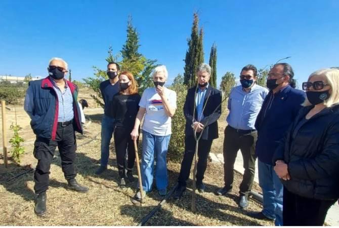 Photo of На Кипре разбит сад в память об армянах, погибших в Арцахской войне