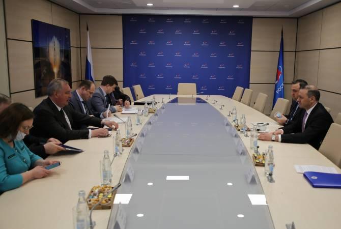 Photo of «Ռոսկոսմոս»-ի ղեկավարն առաջարկել է ընդլայնել ՌԴ-ՀՀ փոխգործակցությունը տիեզերական տեխնոլոգիաների ոլորտում
