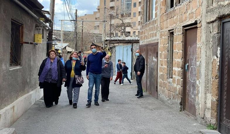 Photo of Ալեն Սիմոնյանն այցելել է Կոզեռն թաղամաս
