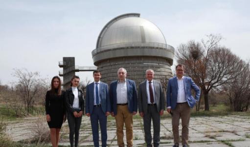 Photo of Հայաստանում ՌԴ դեսպանն այցելել է Բյուրականի աստղադիտարան