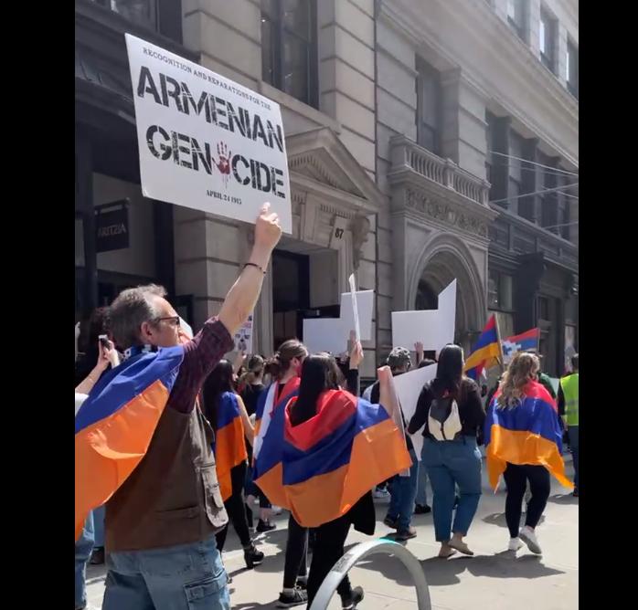 Photo of Ամերիկահայ համայնքը դուրս է եկել փողոց` շնորհակալություն ասելու ԱՄՆ իշխանություններին