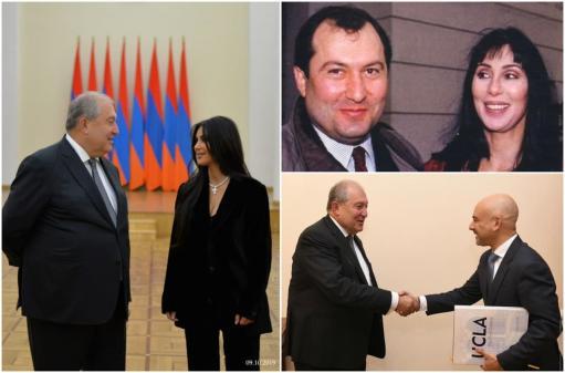 Photo of Президент Армении поблагодарил Ким Кардашьян и Шер за вклад в процесс признания Геноцида армян